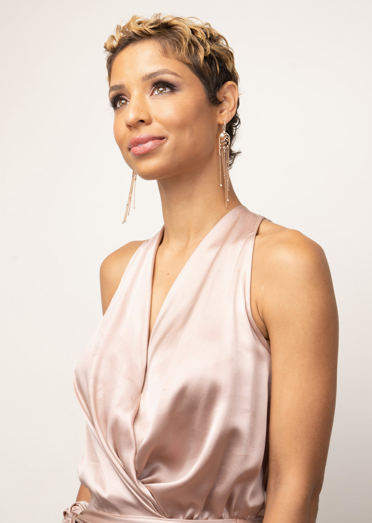 """Brytni Sarpy """"The Young and the Restless"""" Set CBS television City Los Angeles 09/10/21 © Howard Wise/jpistudios.com 310-657-9661"""