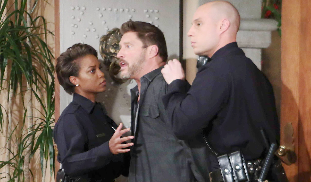 """deacon arrested Sean Kanan""""The Bold and the Beautiful"""" SetCBS Television CityLos Angeles, Ca.05/12/17© Howard Wise/jpistudios.com310-657-9661Episode # 7609U.S.Airdate 06/16/17"""