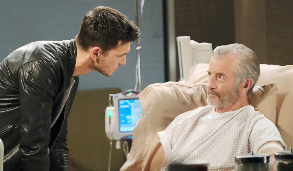 Ben confronts Clyde in the hospital on Days of Our Lives
