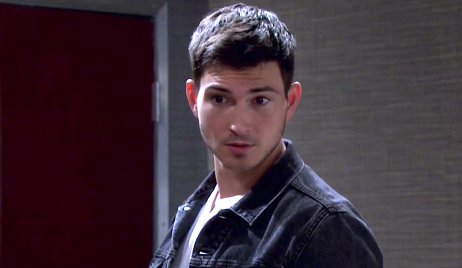 Ben looks surprised in Marlena's office on Days of Our Lives