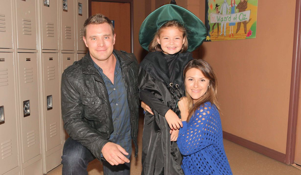 """Elizabeth Hendrickson, Sophie Pollono, Billy Miller""""The Young and the Restless"""" Set CBS television CityLos Angeles09/05/13© Howard Wise/jpistudios.com310-657-9661"""