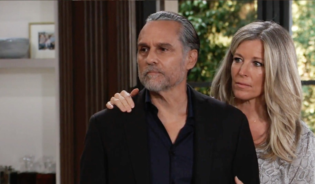 Sonny and Carly get a visitor GH
