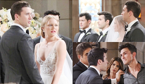 Chad, Abby, Will and Sonny double wedding mashup on Days of Our Lives