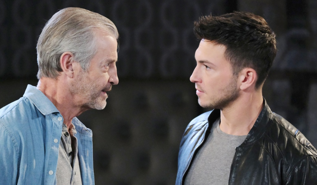 Ben faces Clyde in hotel room on Days of Our Lives