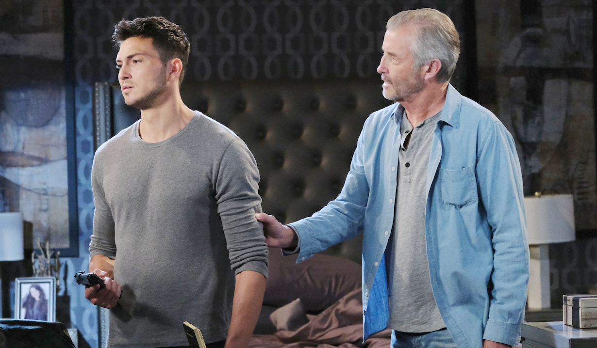 Clyde tries to convince Ben on Days of Our Lives