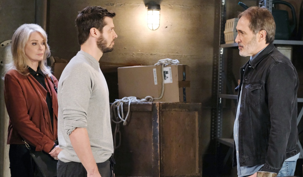 Marlena witnesses Evan facing Orpheus on Days of Our Lives