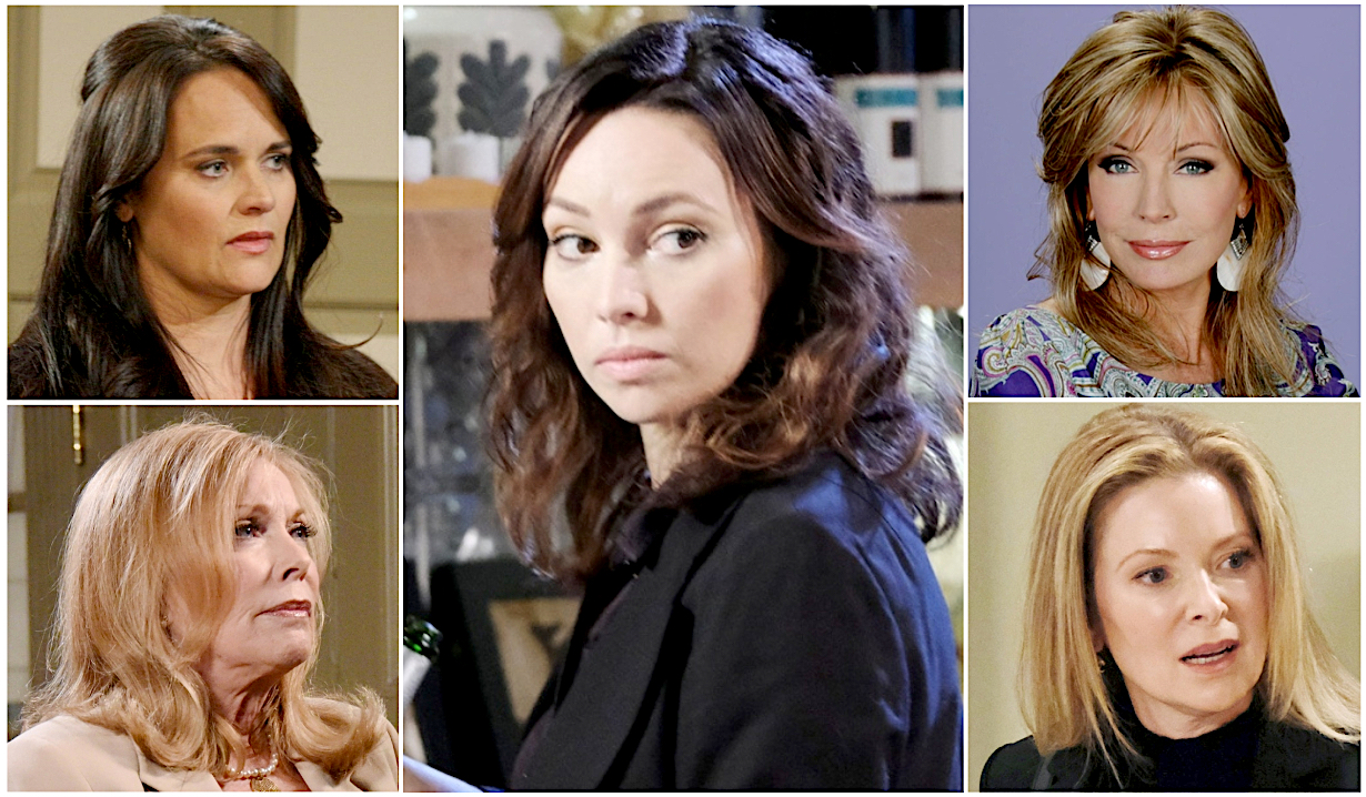 Gwen's potential mothers on Days of Our Lives