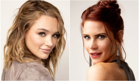 hunter king and courtney hope yr