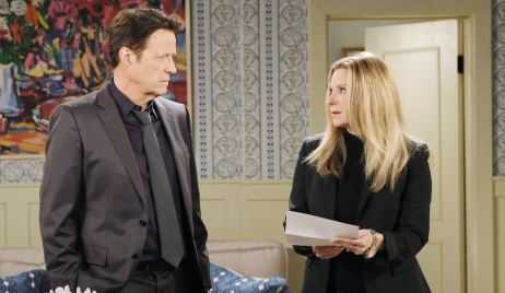 Jack and Jennifer get a letter from Hope on Days of Our Lives