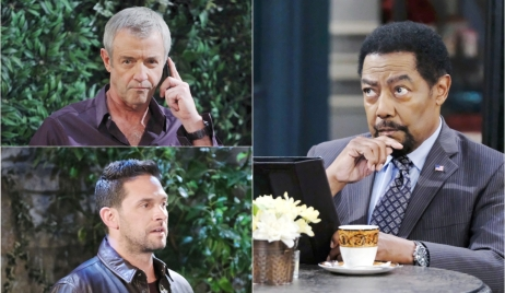 Clyde, Jake, and Abe on Days of Our Lives