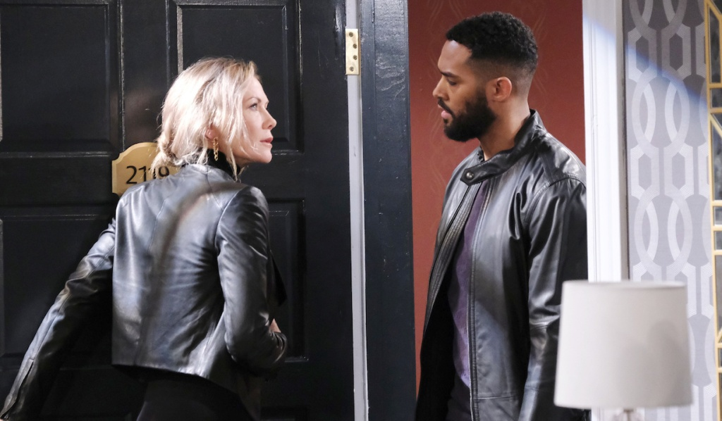 Kristen opens door to Eli on Days of our Lives