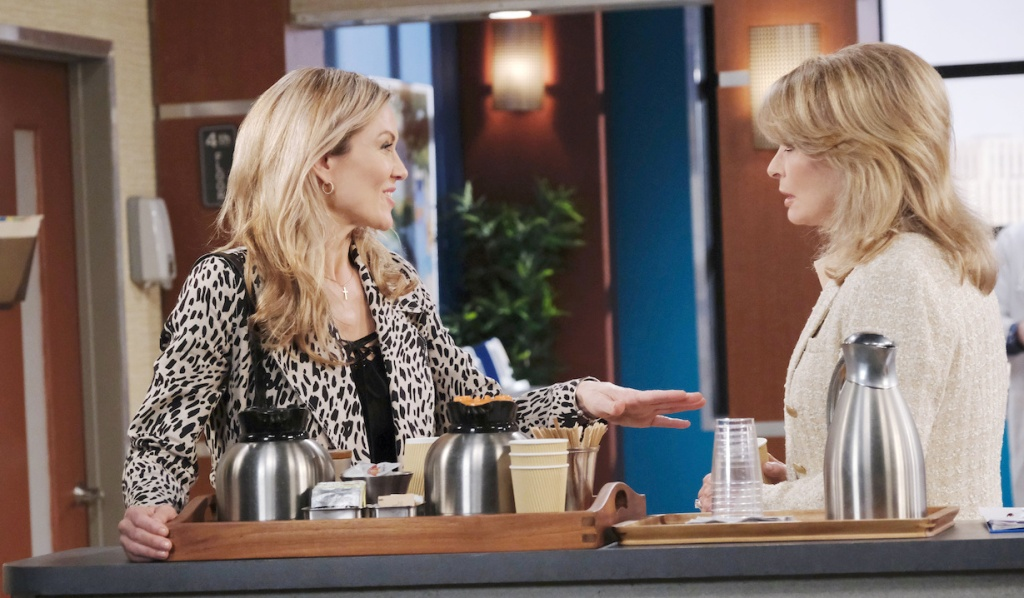 Kristen makes request of Marlena on Days of our Lives