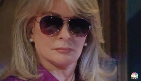 Marlena wearing glassed Days