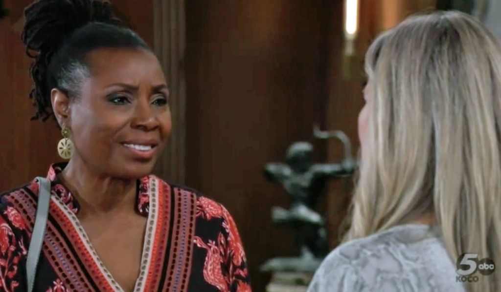 Phyllis meets Carly GH