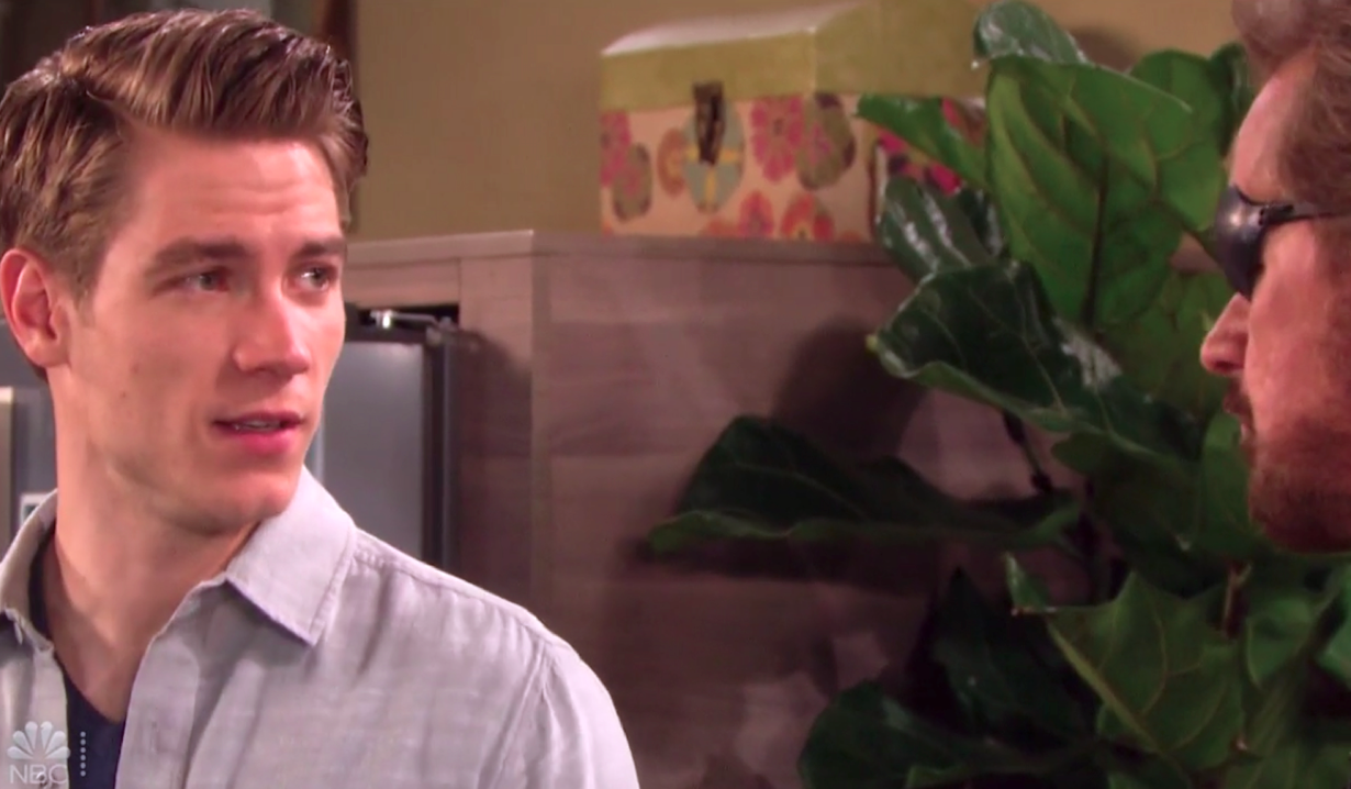 Steve questions Tripp on Days of Our Lives