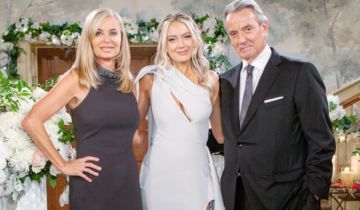 """Melissa Ordway, Eileen Davidson, Eric Braeden""""The Young and the Restless"""" Set WeddingCBS television CityLos Angeles11/05/20© Howard Wise/jpistudios.com310-657-9661"""
