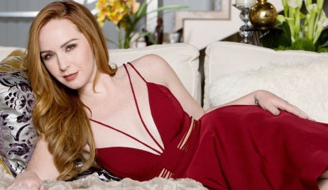 """Camryn Grimes mariah gallery """"The Young and the Restless"""" Set CBS television CityLos Angeles05/15/18© Howard Wise/jpistudios.com310-657-9661"""