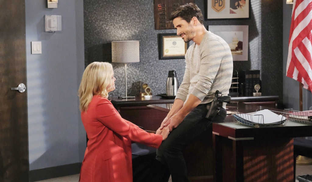 Belle proposes to Shawn on Days of Our Lives