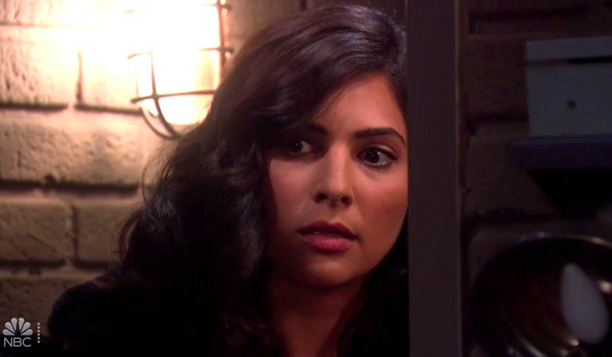 Gabi finds Jake and Kate in bed on Days of Our Lives