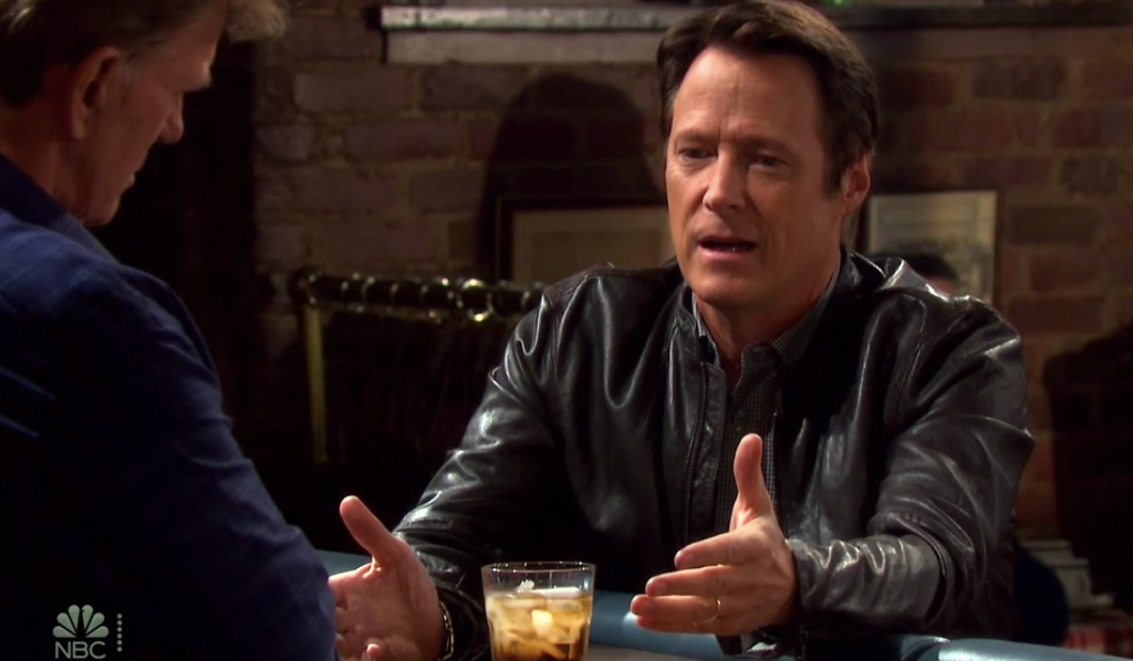 Jack confides in Roman on Days of Our Lives