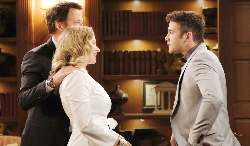 Jack and Jennifer welcome JJ home on Days of Our Lives