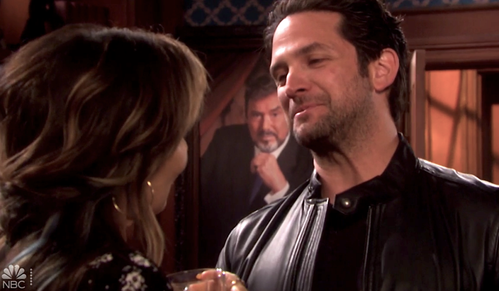 Jake flirts with Kate on Days of Our Lives