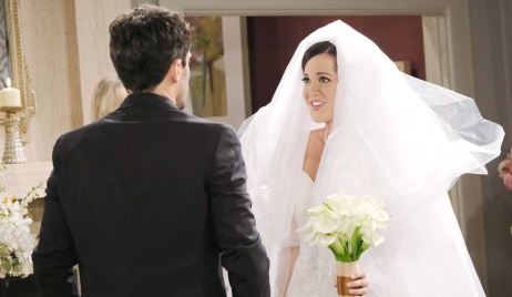 Jan reveals herself to Shawn as the bride on Days of Our Lives
