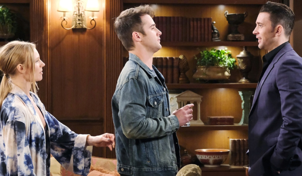 Abigail and Chad welcome JJ home on Days of Our Lives