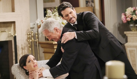 Shawn pulls John off Jan in Days of Our Lives