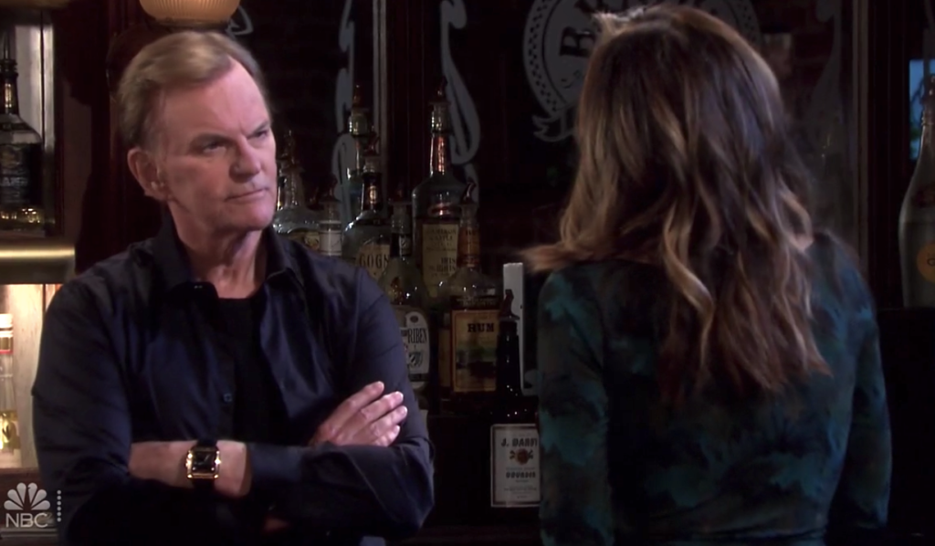 Kate tells Roman about Allie on Days of Our Lives