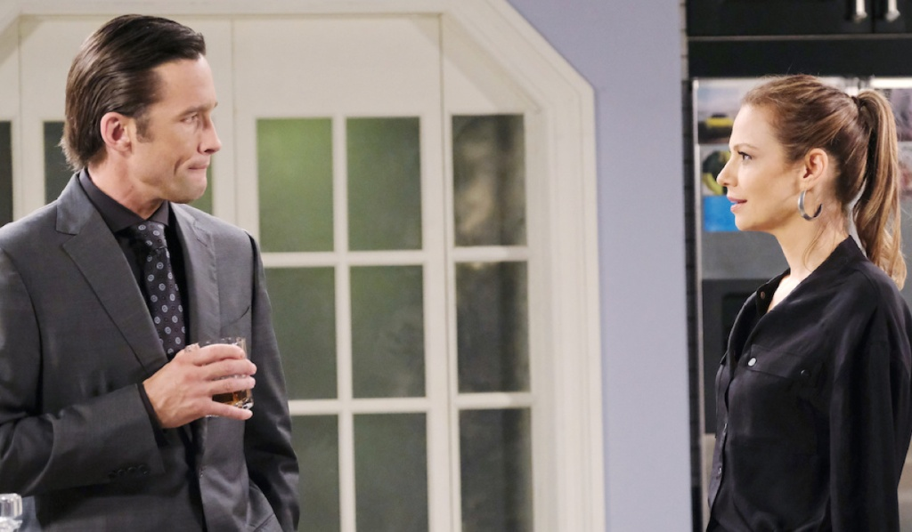Philip and Ava plot on Days of Our Lives