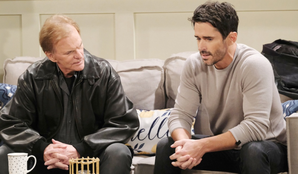 Shawn and Roman talk about Hope on Days of Our Lives