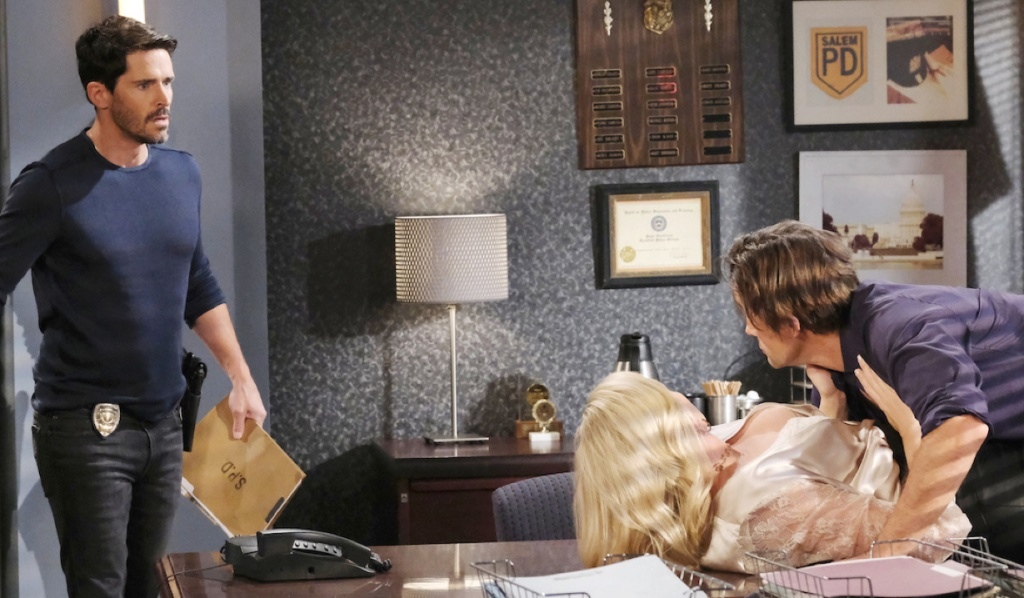 Jan's fantasy about Shawn finding Belle and Philip on Days of Our Lives