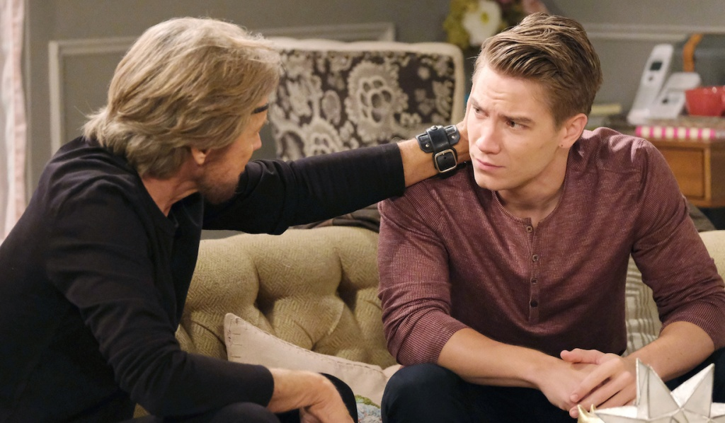 Steve supports Tripp on Days of Our Lives
