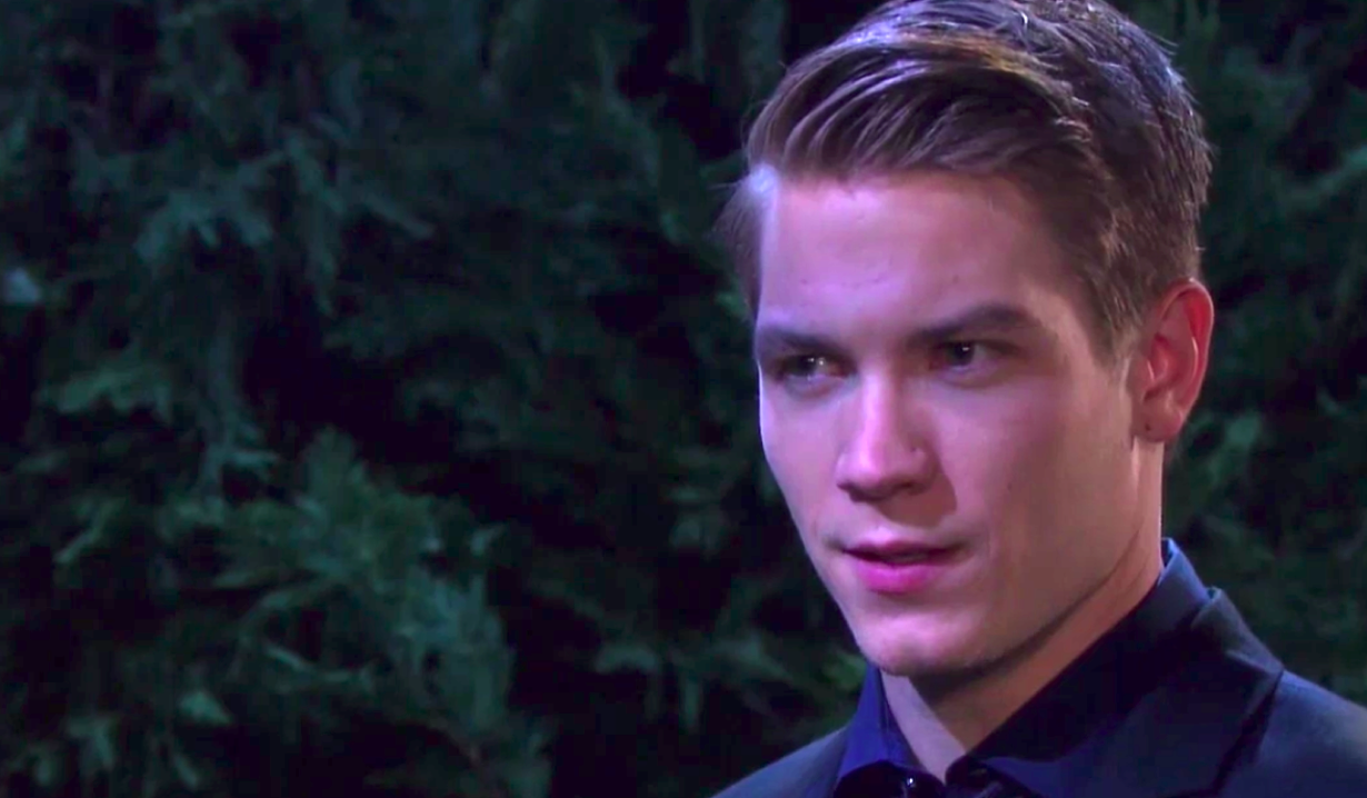 Tripp shocked by DNA test news on Days of Our Lives