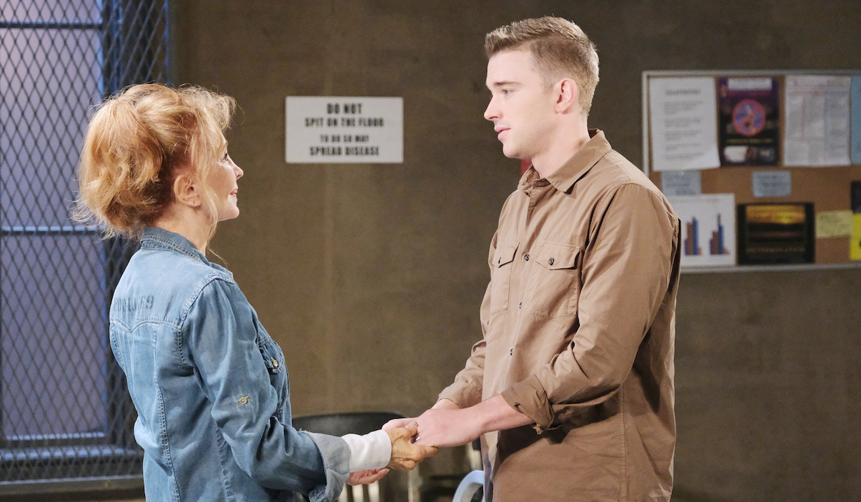 Will visits Maggie in prison on Days of Our Lives