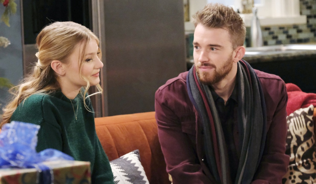 Will comes home for Allie on Days of Our Lives