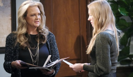 Anna and Abigail investigate on Days of Our Lives