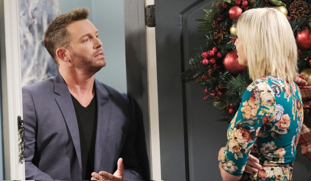 Brady visits Nicole on Days of Our Lives