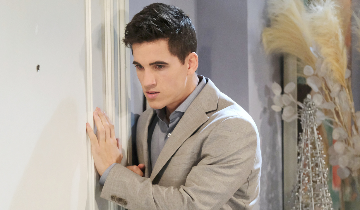Charlie listens at the door on Days of Our Lives