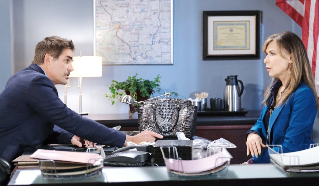 Kate wants answers from Rafe on Days of Our Lives