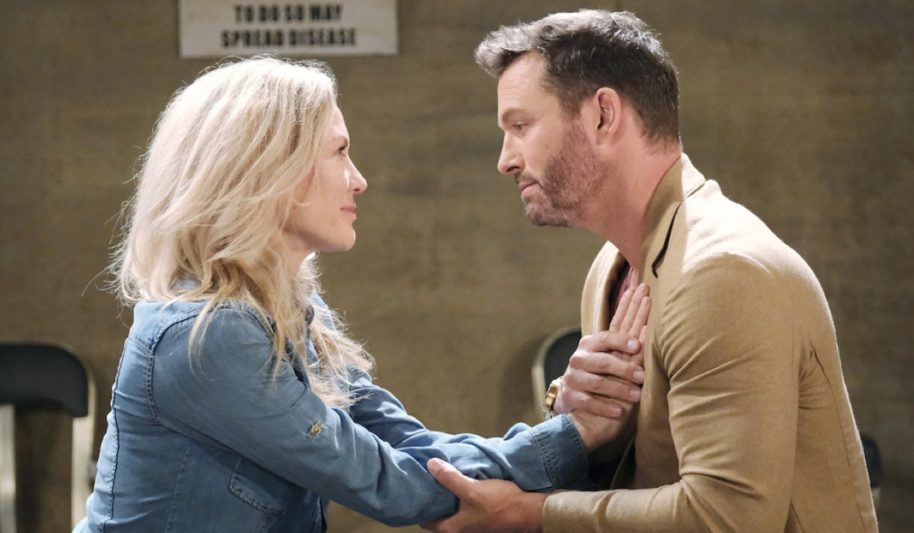 Kristen and Brady spend Christmas in prison together on Days of Our Lives