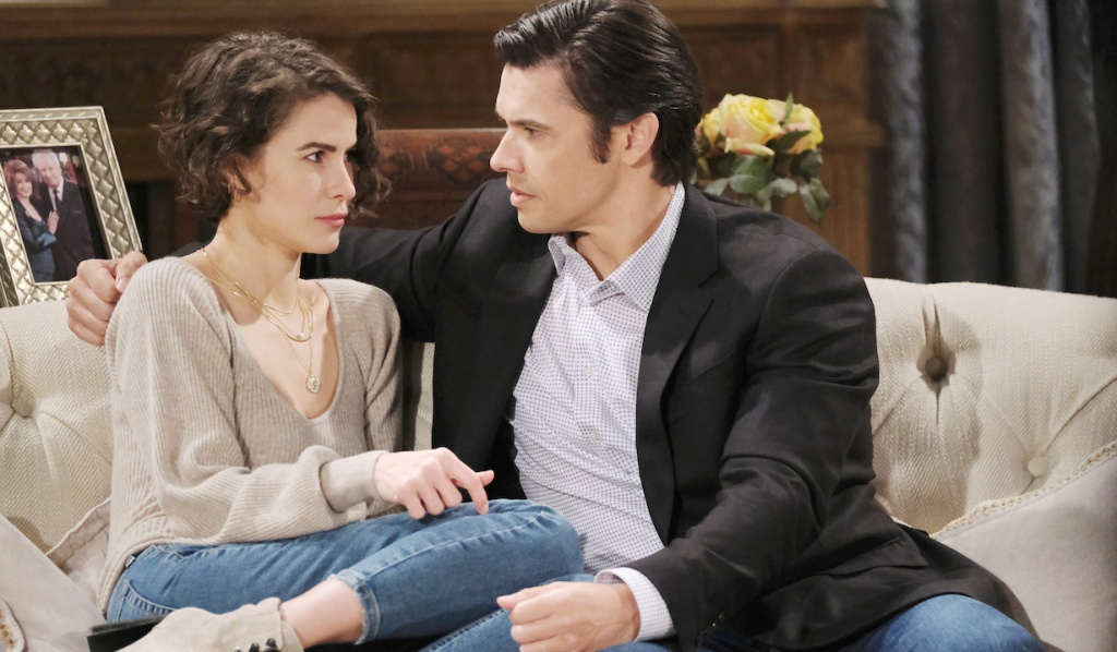 Sarah and Xander hatch a plan on Days of Our Lives