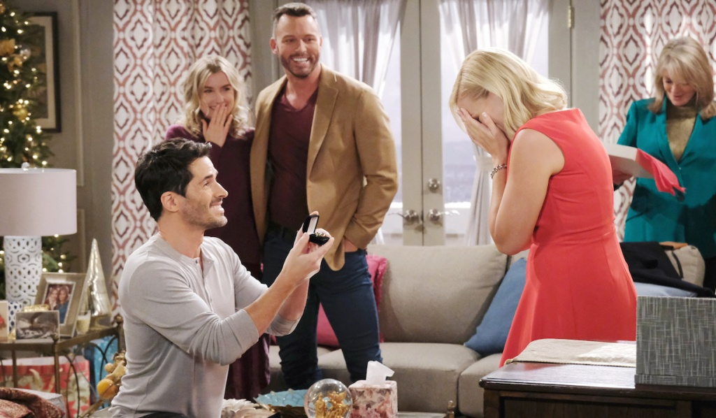 Shawn proposes to Belle on Days of Our Lives