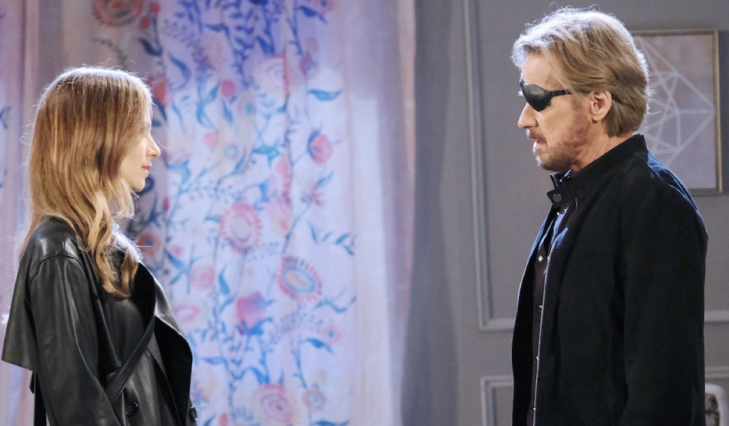 Ava and Steve face-off on Days of Our Lives