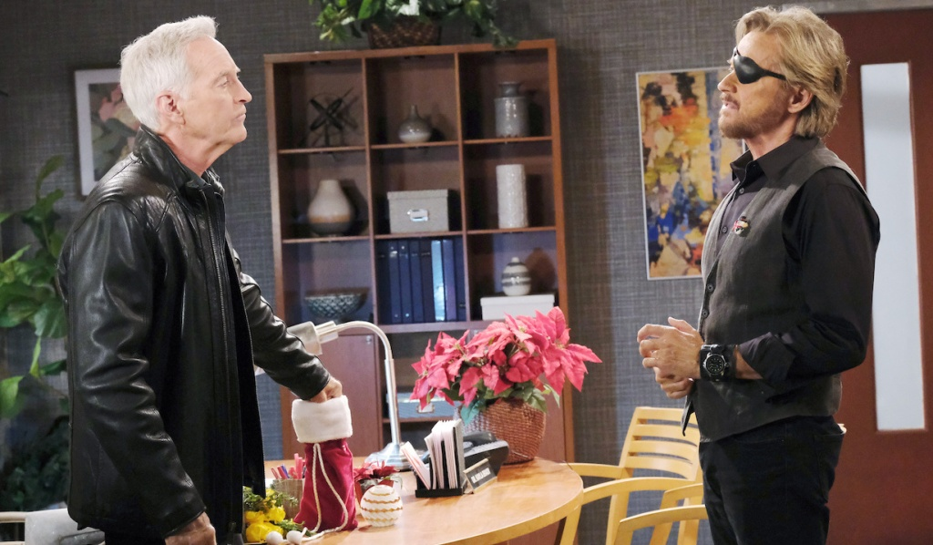John and Steve make up on Days of Our Lives