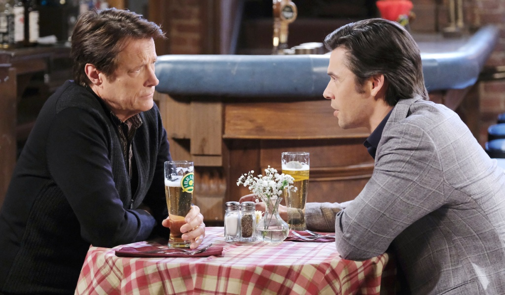 Xander gives Jack advice on Days of Our Lives