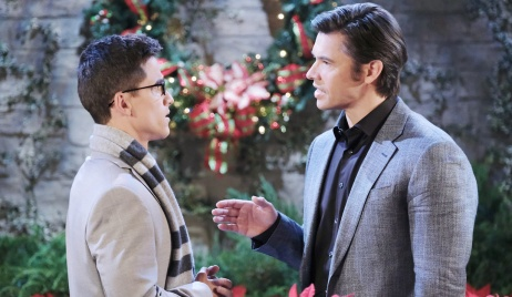 Xander gives Charlie an order on Days of Our Lives