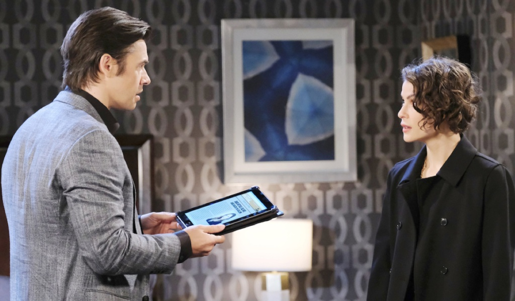 Xander and Sarah find shocking news on Days of Our Lives