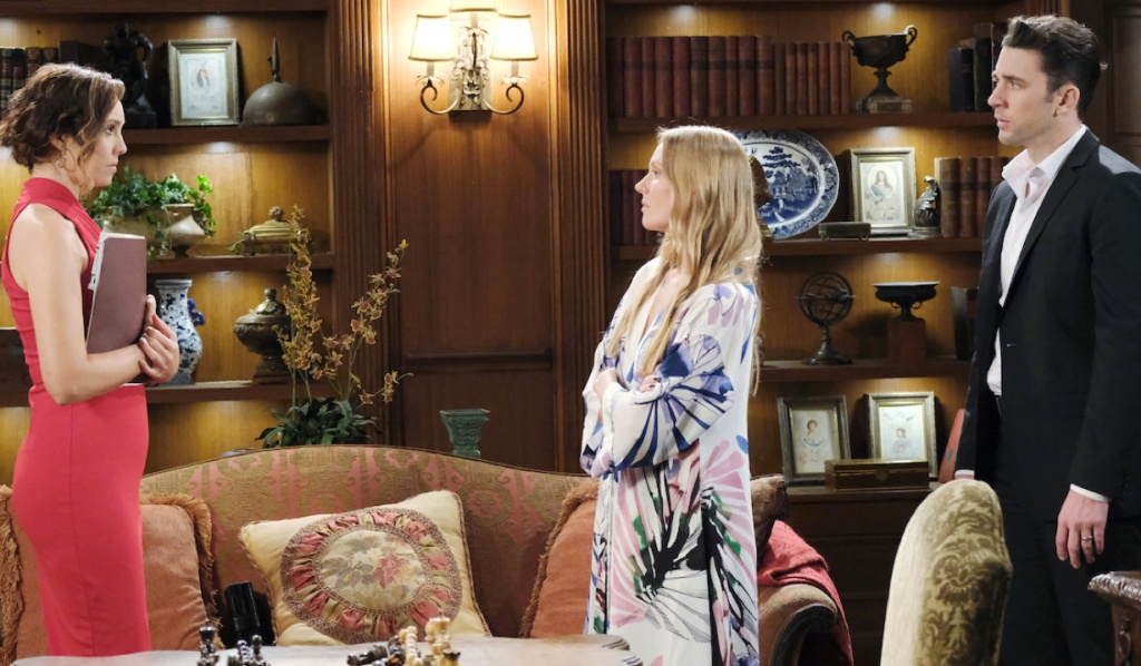 Abby confronts Gwen on Days of Our Lives